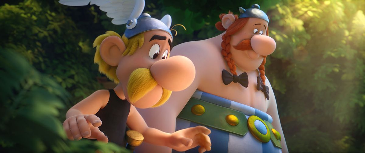 """Tak wciągającej animacji dawno nie widzieliście""""!  """"Asteriks i Obeliks. Tajemnica magicznego wywaru"""" już w kinach!"""