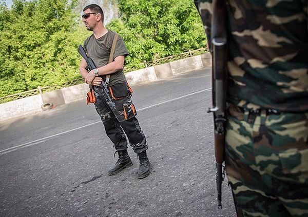 RBNiO Ukrainy: separatyści kontrolują obszar do Morza Azowskiego