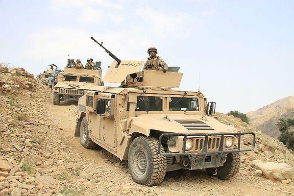 Afgańskie siły bezpieczeństwa odpowiadają na ofensywę talibów