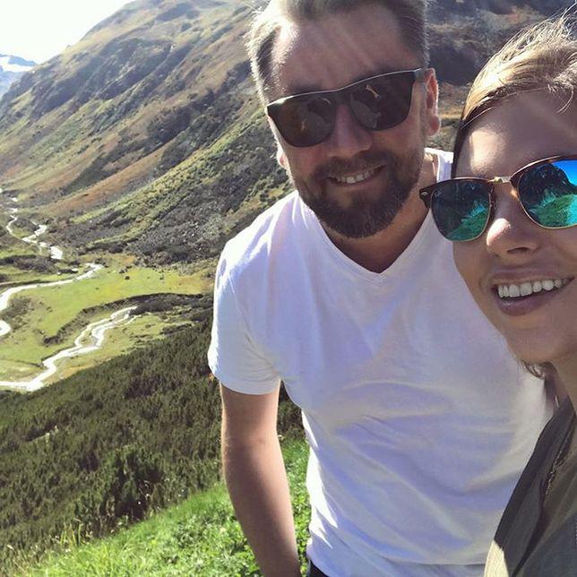 Aleksandra Kwaśniewska słania się na nogach. Najlepsze komentarze jej męża