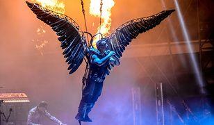 Zespół Rammstein słynie z efektownych koncertów