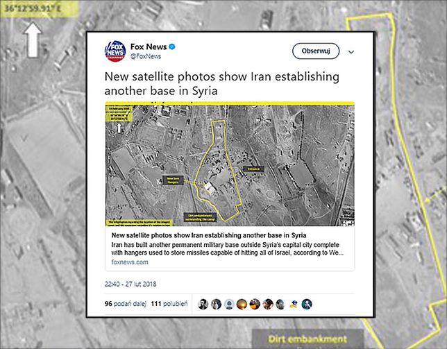Nowe irańskie bazy wojskowe w Syrii. Widać je na zdjęciach satelitarnych