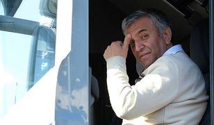 Fardin Kazemi to Irańczyk, któremu w grudniu zepsuła się w Polsce ciężarówka. Jego koledzy po fachu ruszyli z pomocą