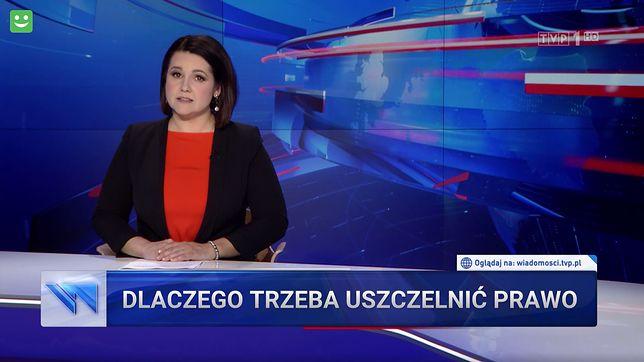 """Edyta Lewandowska w niedzielę 11.07 znowu mówiła o """"lex TVN"""""""