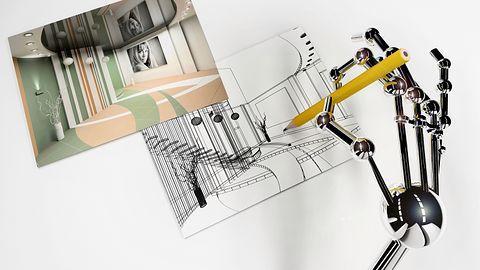 Sztuczna inteligencja artysty nie zastąpi, ale z projektem strony sobie poradzi