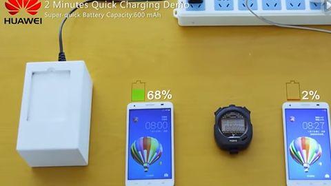 Dzięki Huawei ładowanie smartfona może trwać kilka minut