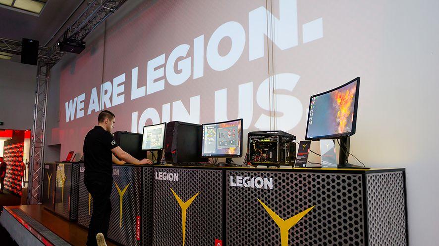 Lenovo: pokaz możliwości sprzętu z serii Legion