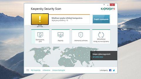 Darmowy Kaspersky Security Scan teraz z wykrywaniem problemów w systemie