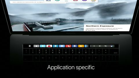 Mac App Store ze specjalną sekcją dla aplikacji wspierających Touch Bar