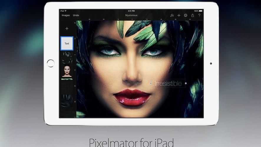 Pixelmator – popularny program graficzny teraz także na iPadach
