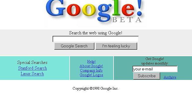 Google ma już 14 lat!