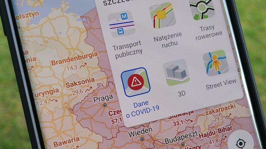 Mapy Google w dobie COVID-19, fot. Oskar Ziomek