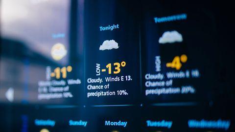 Overdrop: nowa prognoza pogody na Androida dla ceniących minimalizm