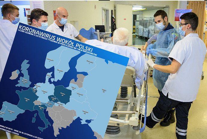 Rekord zgonów. Polska wypada katastrofalnie na tle Europy