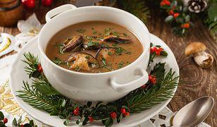 Aromatyczna, aksamitna zupa grzybowa. Na co dzień i na święta