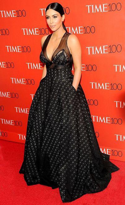 Najlepsze stylizacje: Kim Kardashian