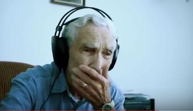 96-latek napisał wzruszającą piosenkę dla zmarłej żony