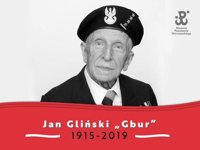 Jan Bohdan Gliński miał 104 lata