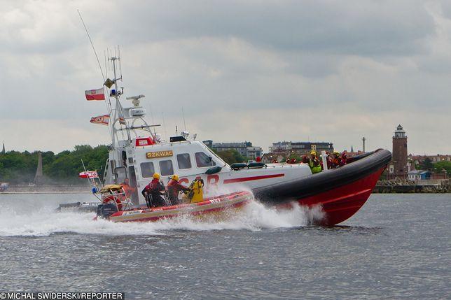 Kołobrzeg. W akcji brała udział Morska Służba Poszukiwania i Ratownictwa