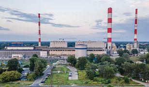 Warszawa. Wybuchł pożar wElektrociepłowni Siekierki