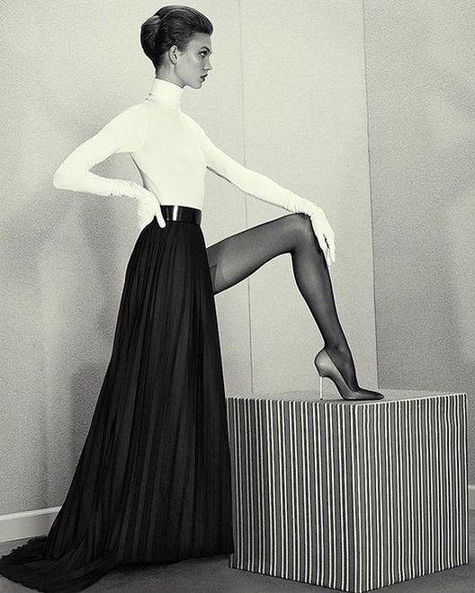 Karlie Kloss - modowa prowokantka