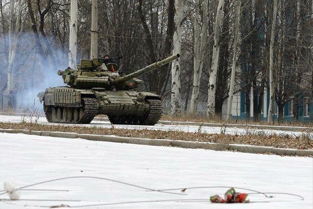 W manewrach wzięło udział ponad 250 rosyjskich czołgów