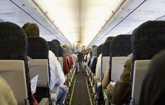Kłótnie w samolocie są uciążliwe dla współpasażerów (zdjęcie poglądowe)