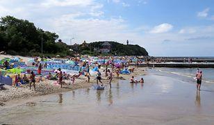 Plaża w Pogorzelicy