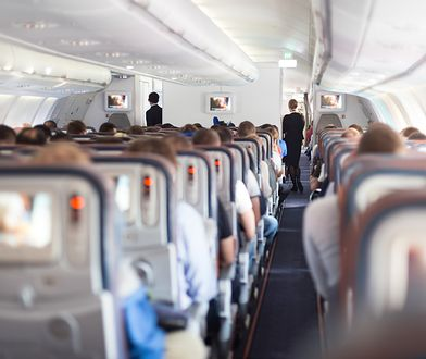 Panika na pokładzie samolotu. Pasażerowie krwawili z nosów i uszu