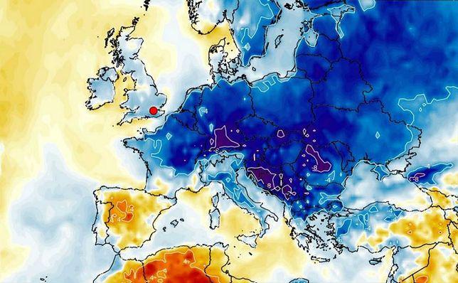 Pogoda. Zimny i wilgotny tydzień. Zmiana od weekendu