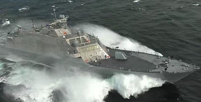 USS Milwaukee - szybki jak błyskawica