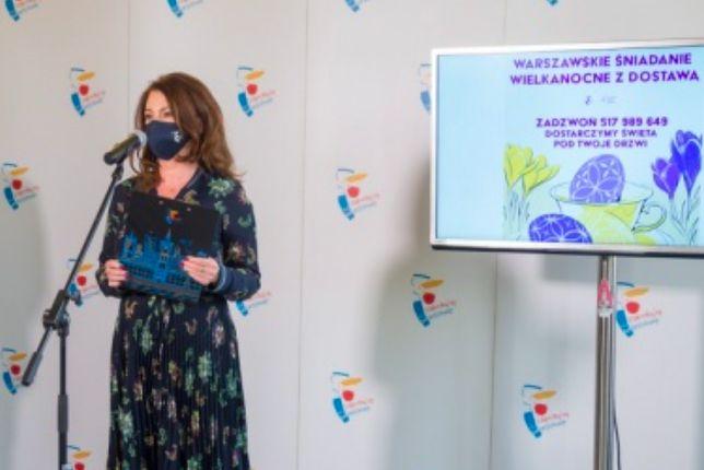 Warszawa.  - Pandemia pokazała nam, jak ważna jest solidarność społeczna i że wśród nas jest wiele osób, które chcą pomagać innym - powiedziała wiceprezydent Warszawy Aldona Machnowska-Góra