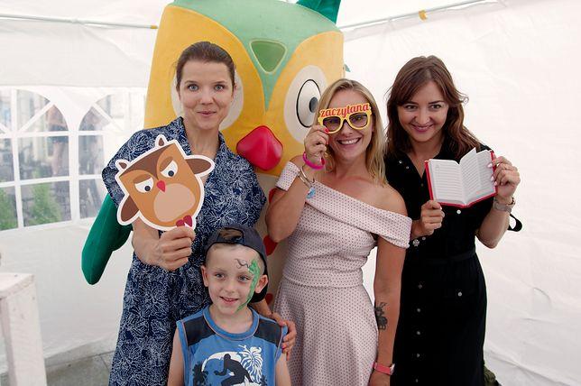 Joanna Jabłczyńska pojawiła się  w Łodzi, by promować czytelnictwo wśród najmłodszych