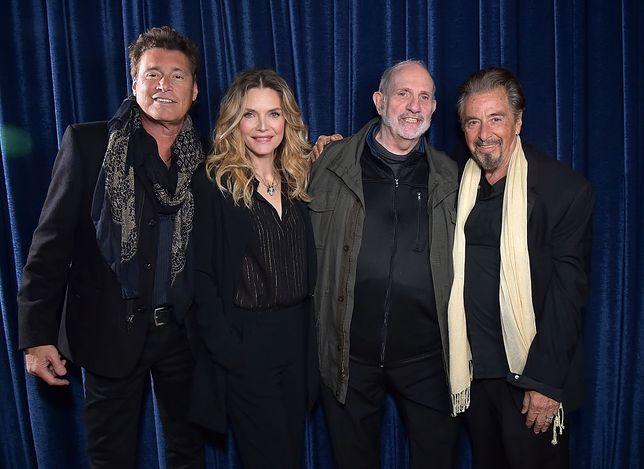 Steven Bauer, Michelle Pfeiffer, Brian De Palma i Al Pacino znowu razem