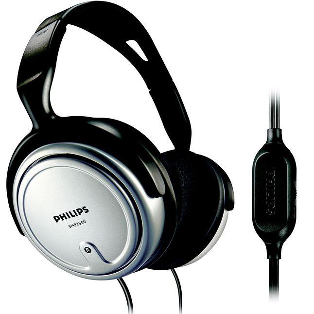 Przykładem słuchawek do biura są Philips SHP2500