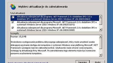 Zapętlone aktualizacje XP - Poprawki sprawiające problem