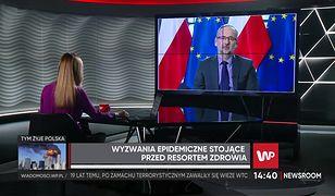 """Koronawirus w Polsce. Adam Niedzielski odpowiada na zarzuty lekarzy. """"Reprezentuję interes pacjenta"""""""