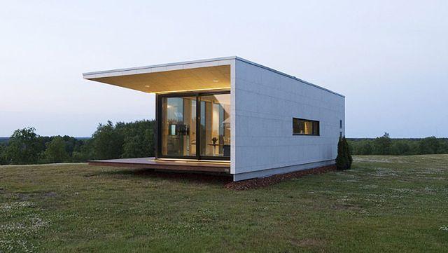 Mały dom z prefabrykatów