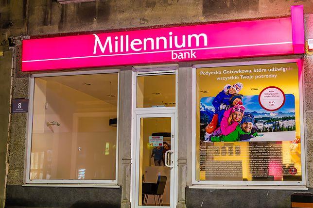 Bank Millennium zwolni ponad 250 osób. Zamknie też 60 placówek