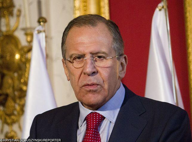 Siergiej Ławrow, od 2004 roku minister spraw zagranicznych Federacji Rosyjskiej.