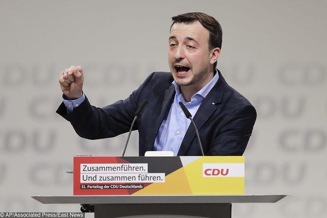 Paul Ziemiak obejmie funkcję sekretarza generalnego partii CDU