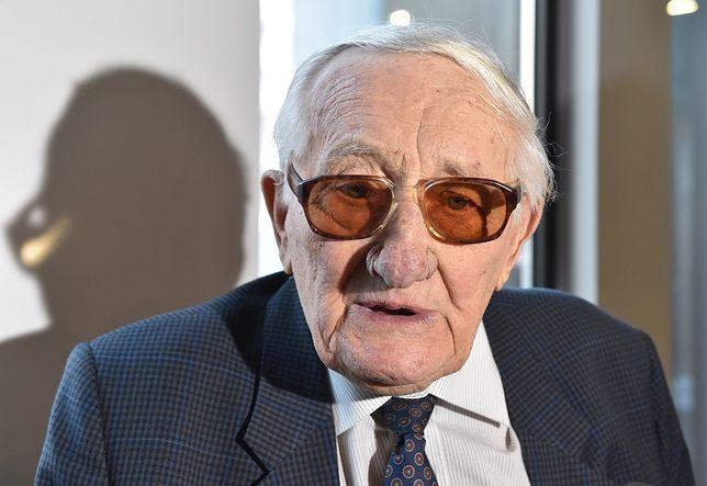 Były więzień Auschwitz Karol Tendera