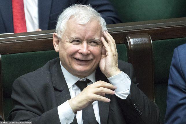 Wybory parlamentarne 2019. Jarosław Kaczyński ma powody do zadowolenia
