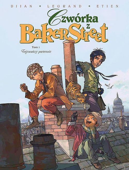 Czwórka z Baker Street. Tom 1