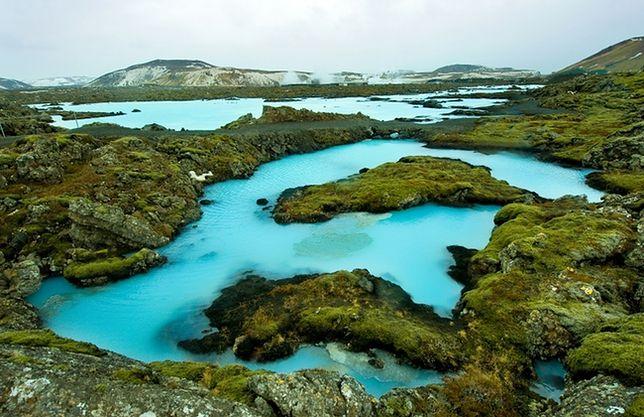 Atrakcje Islandii - Błękitna Laguna