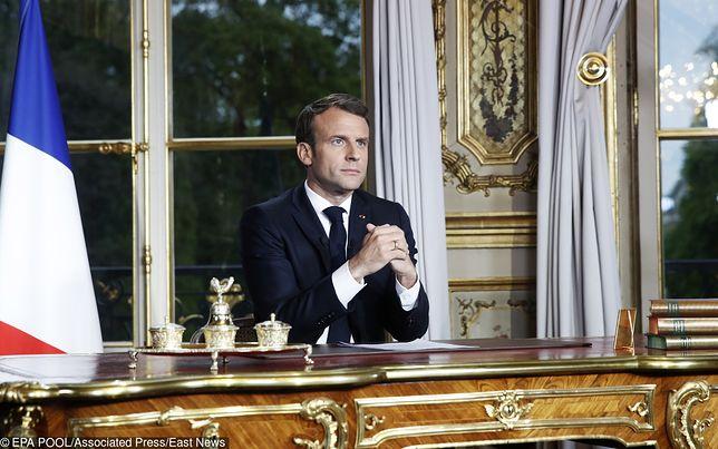 Pożar Notre Dame w Paryżu. Prezydent Francji, Emmanuel Macron, obiecuje odbudowę katedry w ciągu 5 lat