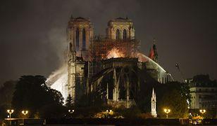 Katedra Notre Dame zapłonęła w nocy z poniedziałku na wtorek