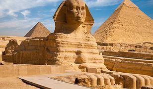 Egipt: Odkryto nowy posąg sfinksa