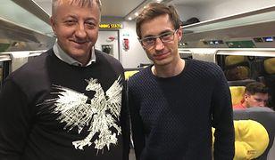 Poseł spotkał w pociągu Kamila Stocha. Wielka klasa polskiego skoczka