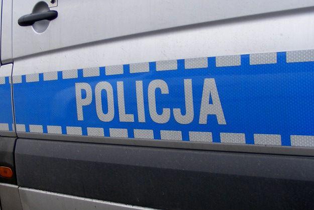 Policja zabezpieczyła miejsce wypadku